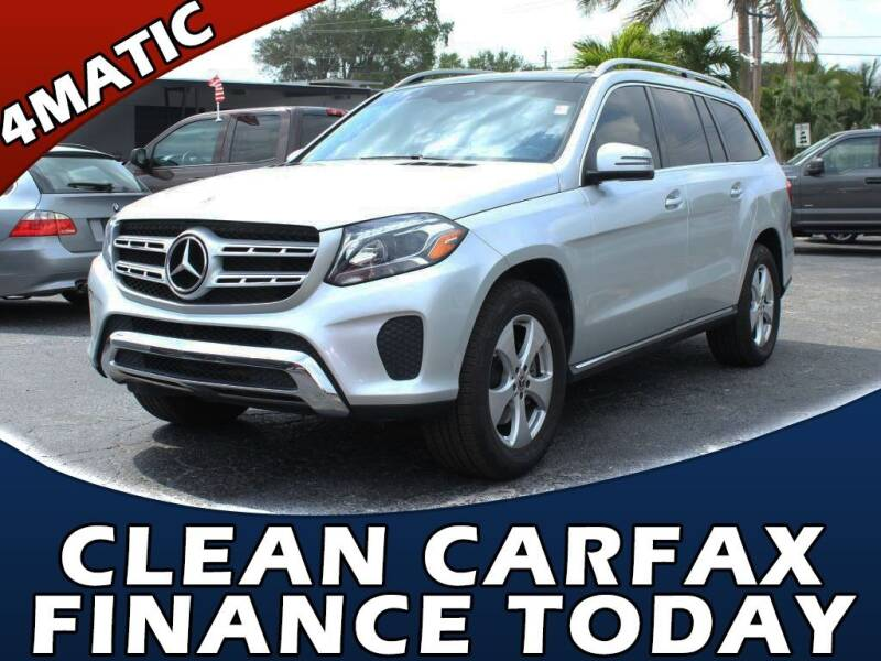 2019 Mercedes-Benz GLS for sale at Palm Beach Auto Wholesale in Lake Park FL