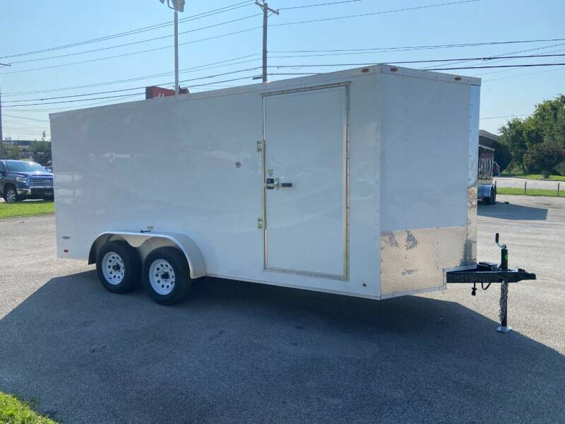2022 Freedom 7x16TA2 for sale at STOP N GO MOTORS - Enclosed Trailers in Maryville TN