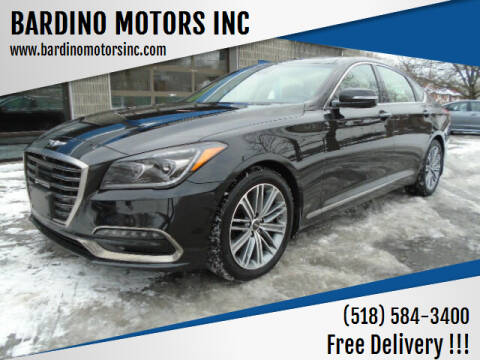 2018 Genesis G80 for sale at BARDINO MOTORS INC in Saratoga Springs NY