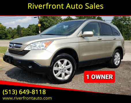2007 Honda CR-V for sale at Riverfront Auto Sales in Middletown OH