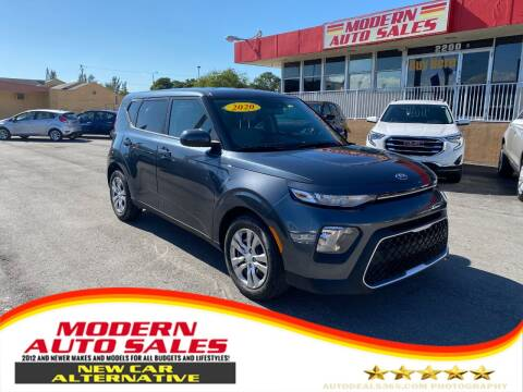 2020 Kia Soul for sale at Modern Auto Sales in Hollywood FL