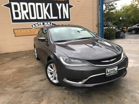 2015 Chrysler 200 for sale at Excellence Auto Trade 1 Corp in Brooklyn NY