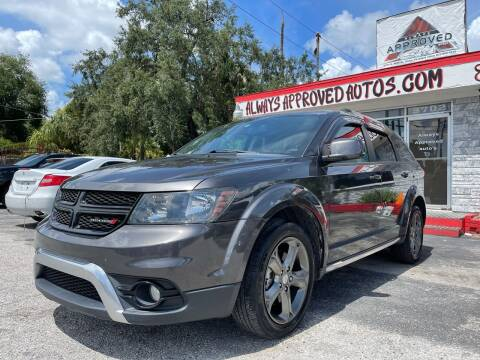 2016 Dodge Journey for sale at Always Approved Autos in Tampa FL