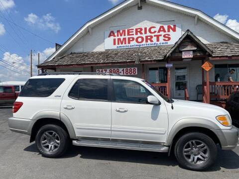 2004 Toyota Sequoia for sale at American Imports INC in Indianapolis IN