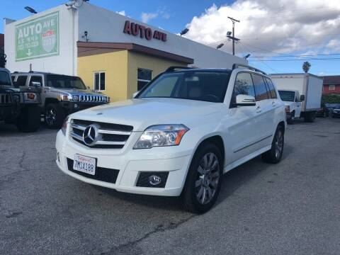 2012 Mercedes-Benz GLK for sale at Auto Ave in Los Angeles CA