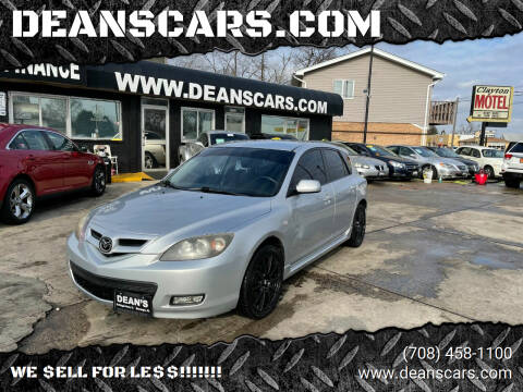2008 Mazda MAZDA3 for sale at DEANSCARS.COM in Bridgeview IL