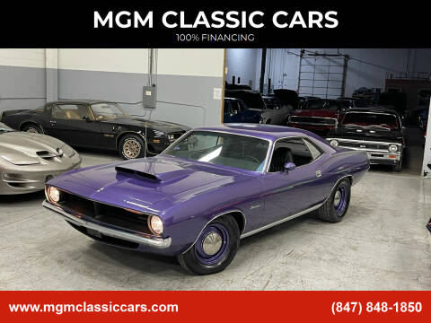 1970 Plymouth Barracuda for sale at MGM CLASSIC CARS in Addison, IL