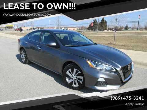 2020 Nissan Altima for sale at Wholesale Car Buying in Saginaw MI