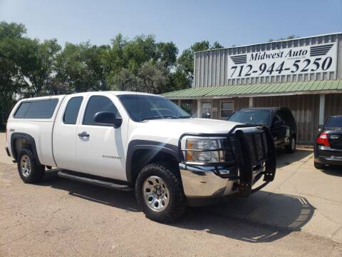 2013 Chevrolet Silverado 1500 for sale at Midwest Auto of Siouxland, INC in Lawton IA