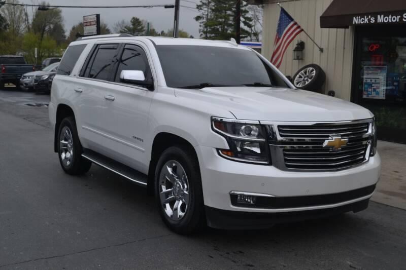 2016 Chevrolet Tahoe for sale at Nick's Motor Sales LLC in Kalkaska MI