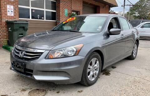 2012 Honda Accord for sale at Steve's Auto Sales in Norfolk VA