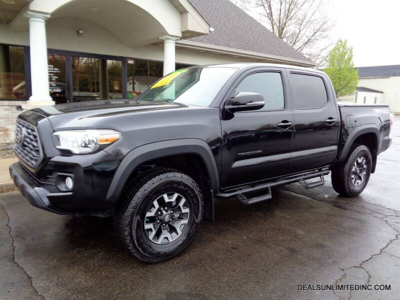 2020 Toyota Tacoma for sale at DEALS UNLIMITED INC in Portage MI