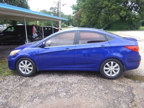 2014 Hyundai Accent for sale at Westside Auto Sales in New Boston TX
