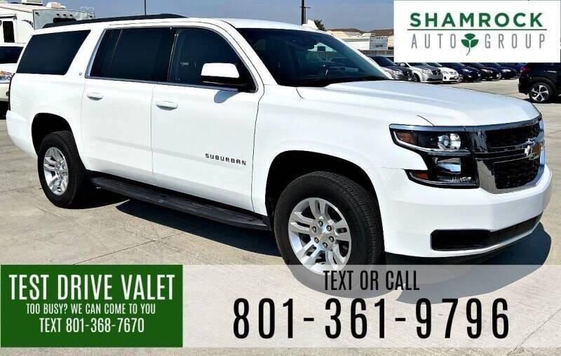 2018 Chevrolet Suburban for sale at Shamrock Group LLC #1 in Pleasant Grove UT