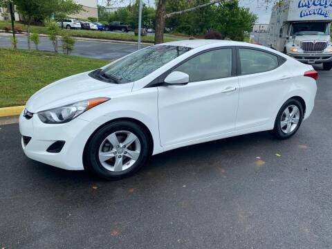 2013 Hyundai Elantra for sale at Dreams Auto Group LLC in Sterling VA