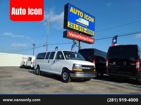 2016 Chevrolet Express Passenger for sale at Auto Icon in Houston TX
