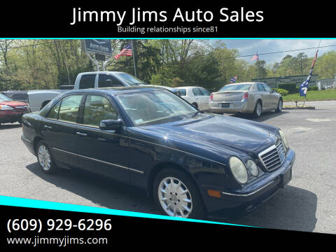 2001 Mercedes-Benz E-Class for sale at Jimmy Jims Auto Sales in Tabernacle NJ