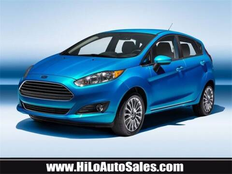 2019 Ford Fiesta for sale at Hi-Lo Auto Sales in Frederick MD