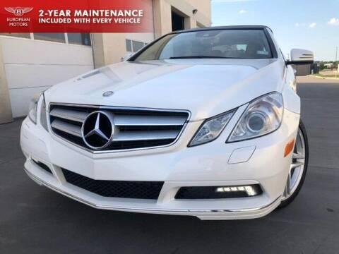 2011 Mercedes-Benz E-Class for sale at European Motors Inc in Plano TX