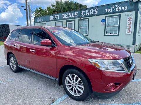 2015 Nissan Pathfinder for sale at Best Deals Cars Inc in Fort Myers FL
