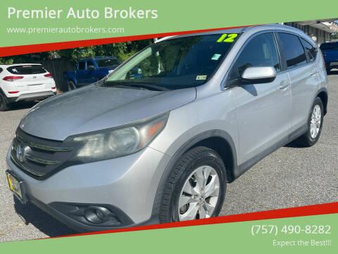 2012 Honda CR-V for sale at Premier Auto Brokers in Virginia Beach VA