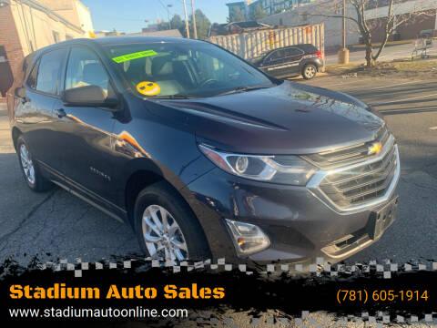 2018 Chevrolet Equinox for sale at Stadium Auto Sales in Everett MA