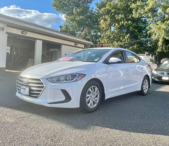 2018 Hyundai Elantra for sale at ADVANTAGE MOTORS INC in Edison NJ