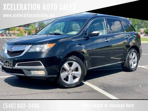 2011 Acura MDX for sale at XCELERATION AUTO SALES in Chester VA