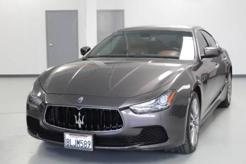 2016 Maserati Ghibli for sale at Mag Motor Company in Walnut Creek CA