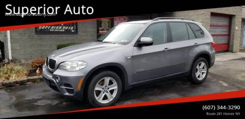 2012 BMW X5 for sale at Superior Auto in Cortland NY