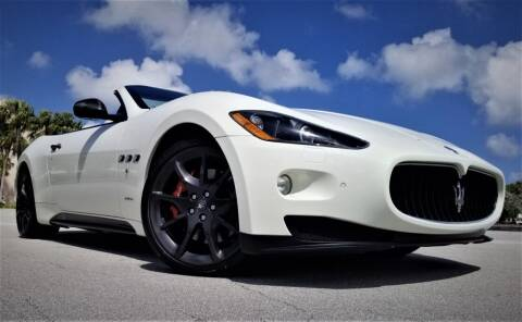 2012 Maserati GranTurismo for sale at Progressive Motors in Pompano Beach FL