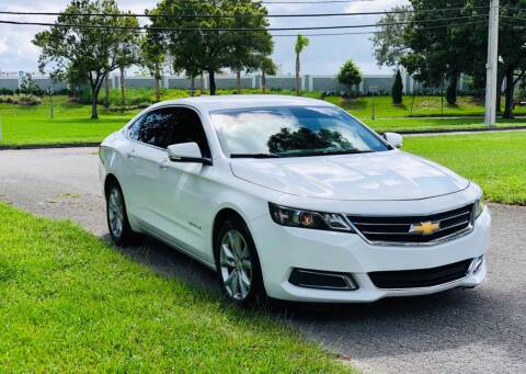2017 Chevrolet Impala for sale at Sunshine Auto Sales in Oakland Park FL