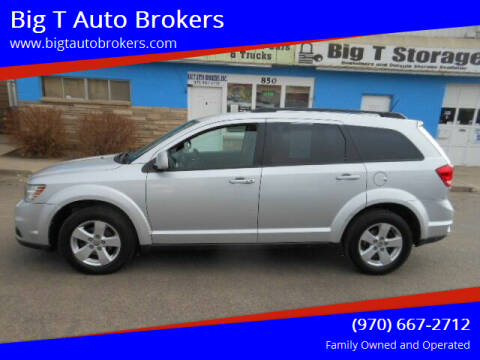 2012 Dodge Journey for sale at Big T Auto Brokers in Loveland CO