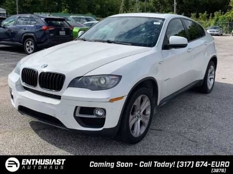2014 BMW X6 for sale at Enthusiast Autohaus in Sheridan IN