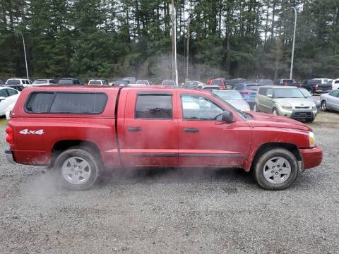 2006 Dodge Dakota for sale at WILSON MOTORS in Spanaway WA