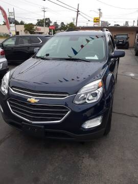 2016 Chevrolet Equinox for sale at MIRACLE AUTO SALES in Cranston RI