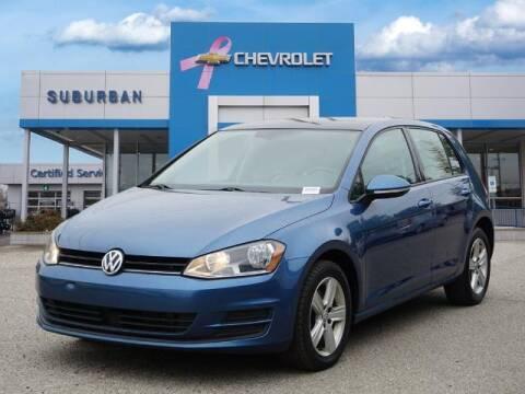 2017 Volkswagen Golf for sale at Suburban Chevrolet of Ann Arbor in Ann Arbor MI
