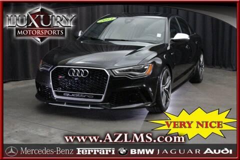 2013 Audi S6 for sale at Luxury Motorsports in Phoenix AZ