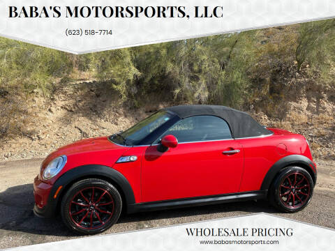 2014 MINI Roadster for sale at Baba's Motorsports, LLC in Phoenix AZ