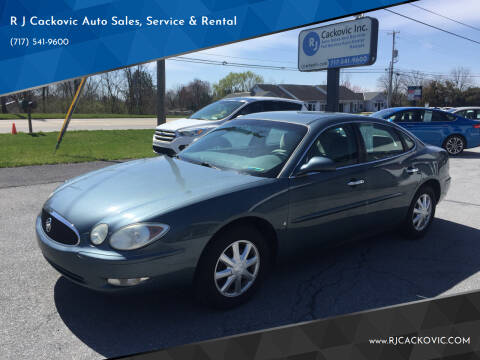 2006 Buick LaCrosse for sale at R J Cackovic Auto Sales, Service & Rental in Harrisburg PA