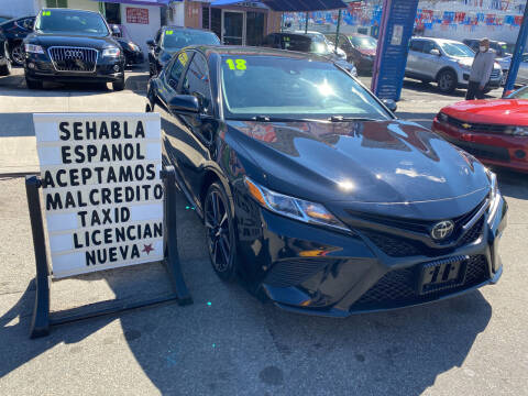 2018 Toyota Camry for sale at Cedano Auto Mall Inc in Bronx NY
