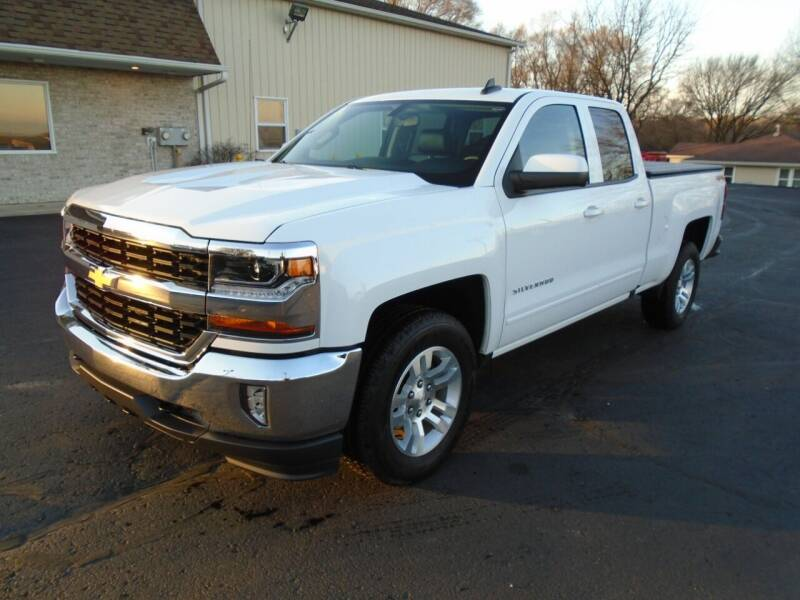 2018 Chevrolet Silverado 1500 for sale at Ritchie Auto Sales in Middlebury IN