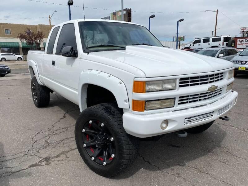 1998 Chevrolet C/K 2500 Series K2500 Silverado