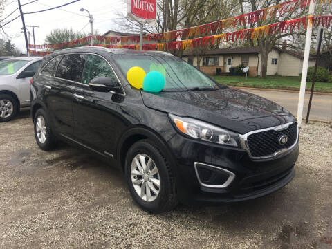 2016 Kia Sorento for sale at Antique Motors in Plymouth IN
