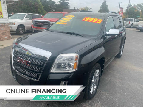 2012 GMC Terrain for sale at Excel Auto Sales LLC in Kawkawlin MI