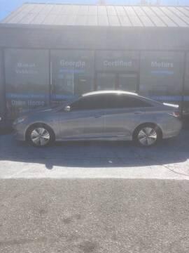 2013 Hyundai Sonata Hybrid for sale at Georgia Certified Motors in Stockbridge GA