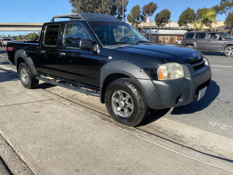 2002 Nissan Frontier for sale at Beyer Enterprise in San Ysidro CA