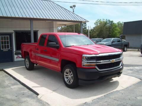 2017 Chevrolet Silverado 1500 for sale at LONGSTREET AUTO in Saint Augustine FL