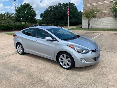 2013 Hyundai Elantra for sale at Pitt Stop Detail & Auto Sales in College Station TX
