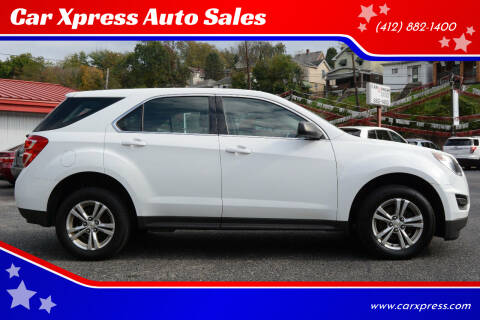 2016 Chevrolet Equinox for sale at Car Xpress Auto Sales in Pittsburgh PA